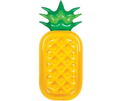 Aufblasbare Luftmatratze Luxe Pineapple, Gelb, Grün