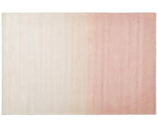 Handgewebter Viskoseteppich Alana mit Farbverlauf