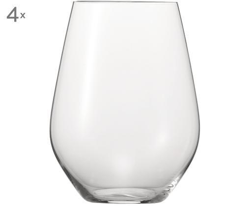 Bicchieri XL Authentis, 4 pz., Trasparente