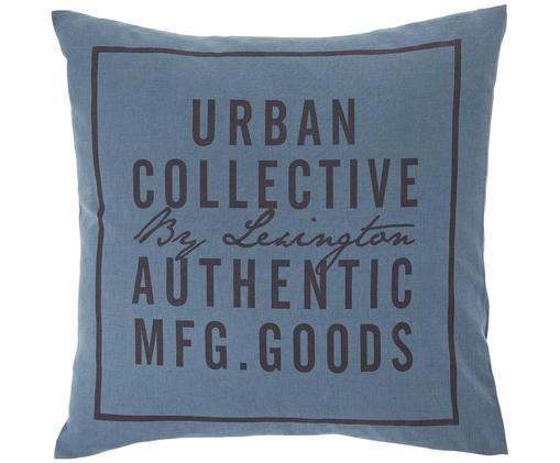 Federa arredo Urban Collective, Blu petrolio Incisione: nero