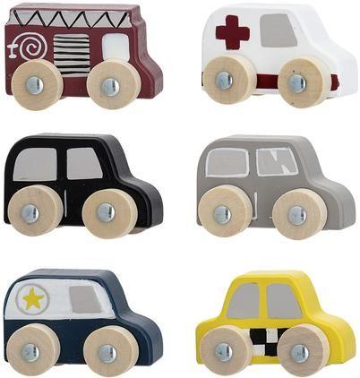 Spielzeugauto-Set Car, 6-tlg.
