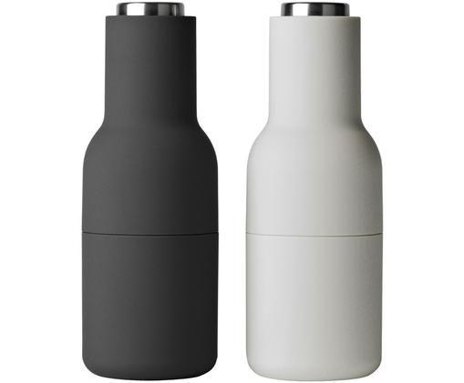 Mühlenset Bottle Grinder, 2-tlg., Anthrazit, Hellgrau