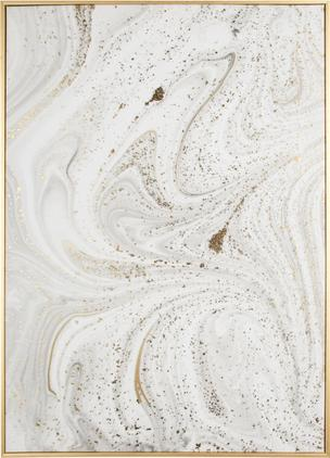 Gerahmter Leinwanddruck Marble