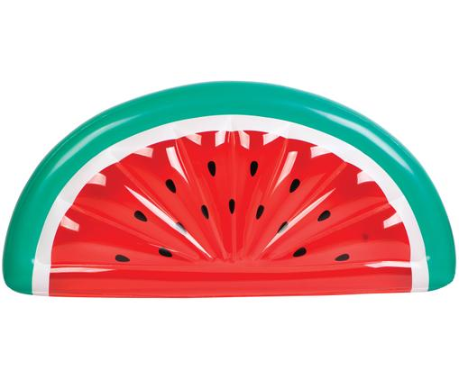 Materasso gonfiabile Luxe Watermelon, Materiale sintetico (PVC), Rosso, turchese, bianco, Larg. 185 x Alt. 18 cm
