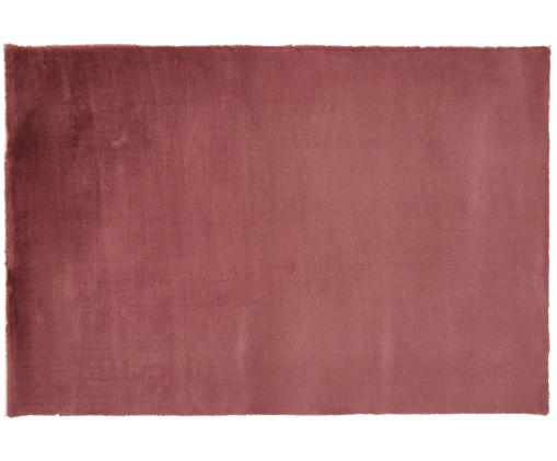 Sehr flauschiger Kunstfell-Teppich Rabea, Flor: 100% Polyester, Rückseite: 70% Polyester, 30% Baumwo, Burgunderrot, B 200 x L 300 cm (Größe L)