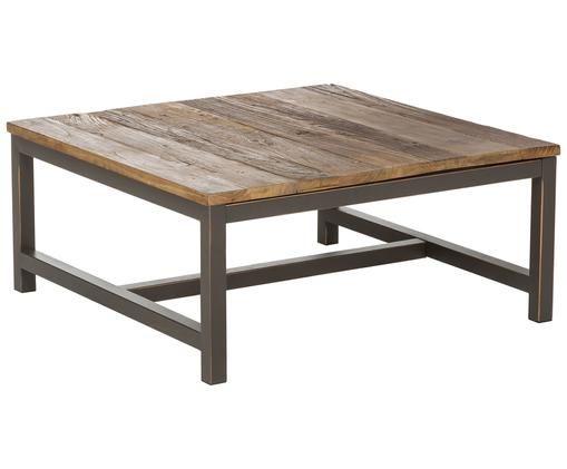 Tavolino da salotto Vintage, Olmo, nero