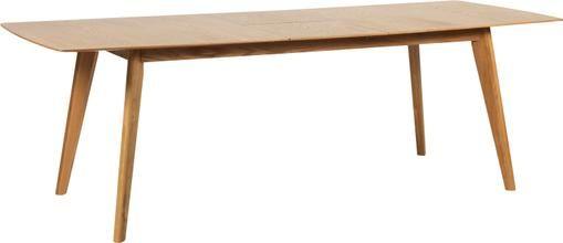 Ausziehbarer Esstisch Cirrus mit Eichenholzfurnier