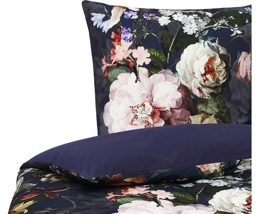 Flanell-Bettwäsche Fleurel mit Blumen-Muster