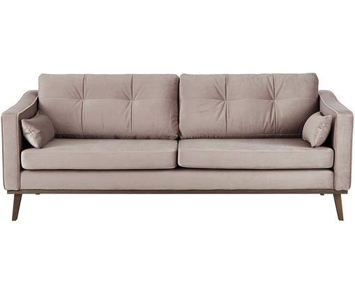 Samt-Sofa Alva (3-Sitzer)