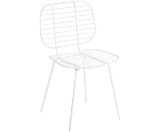Krzesło Chloé, Biały, matowy