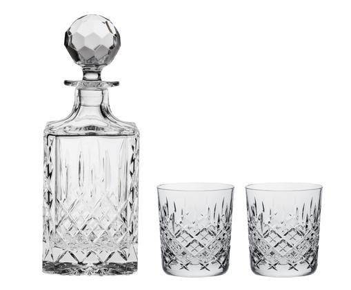 Kristallglas-Set London, 3-tlg, Transparent