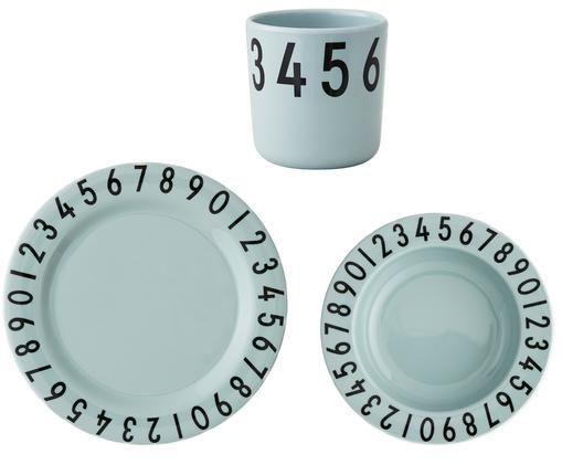 Frühstück-Set Numbers, 3-tlg