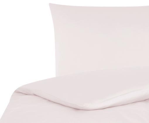 Baumwollsatin-Bettwäsche Comfort in Rosa