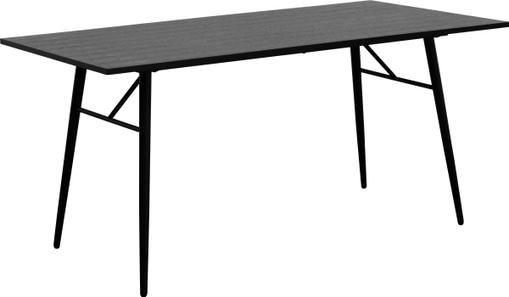 Holztisch Jette mit Metallgestell