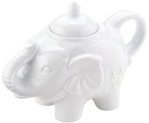 Sucrier Elephant, Blanc
