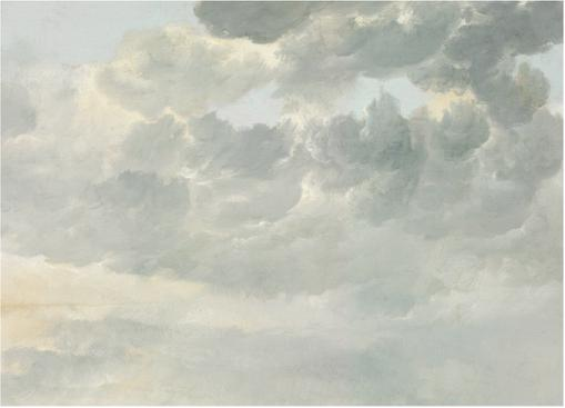 Fototapete Golden Age Clouds