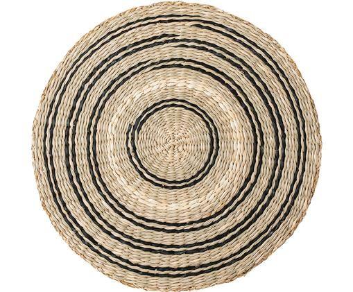 Rundes Seegras-Tischset Kama