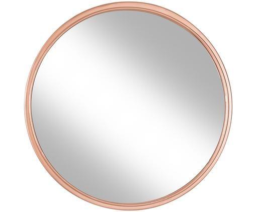 Specchio da parete Nova, Cornice: metallo, Superficie dello specchio: lastra di vetro, Dorato, Ø 46 cm
