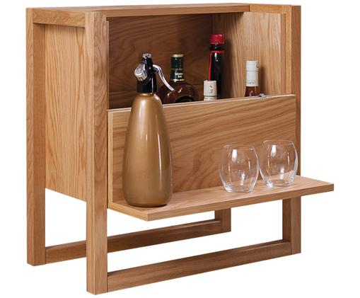 Mini bar NewEst, Legno di quercia, Larg. 59 x Alt. 60 cm