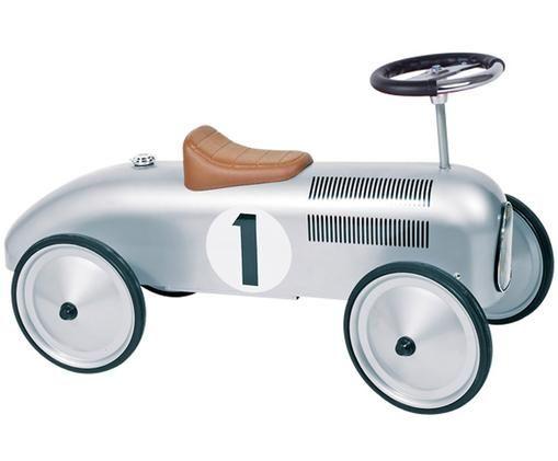 Rutscherfahrzeug Oldtimer, Silberfarben