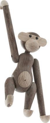 Designer-Deko-Objekt Monkey, Eichenholz