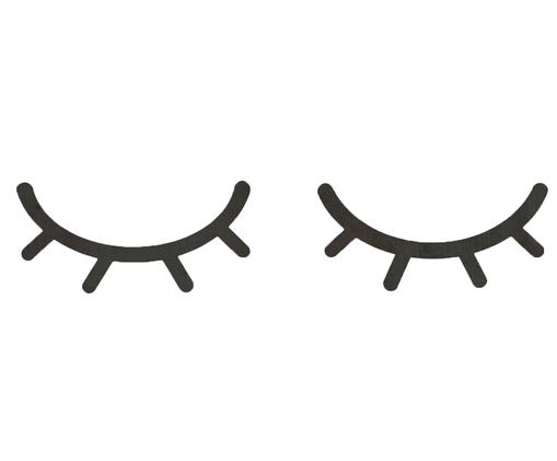 Wand-Objekt-Set Eyelash, 2-tlg.
