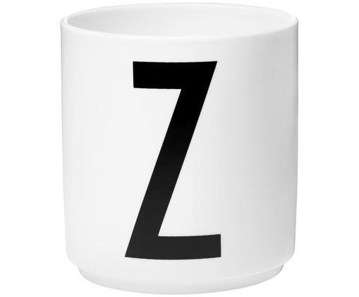 Mug Z, Blanc, noir