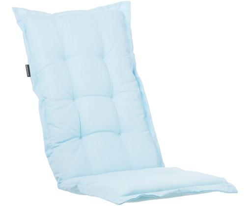 Nakładka na siedzisko z oparciem Panama, Tapicerka: 50% bawełna, 50%polieste, Jasny niebieski, S 50 x D 123 cm