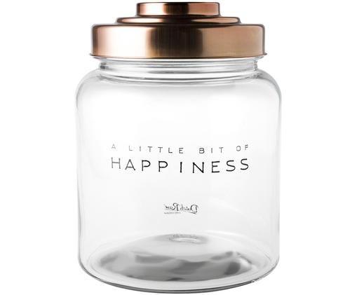 Aufbewahrungsglas Happiness