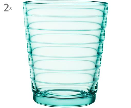 Szklanka do wody Aino Aalto, 2 szt., Niebieski