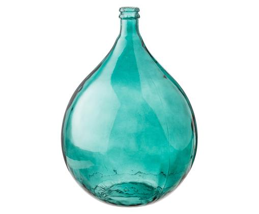Vase à poser au sol Drop, Aqua
