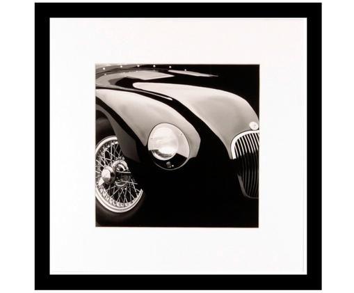 Stampa digitale incorniciata Oldtimer II, Immagine: nero, bianco Cornice: nero