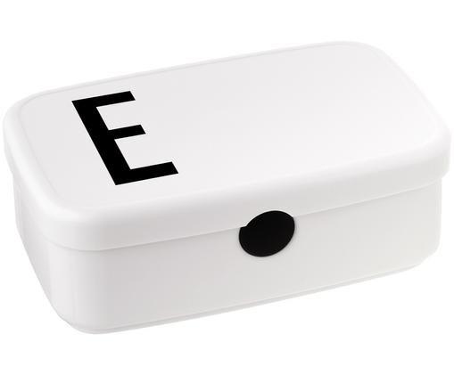 Lunchbox E, Weiss, Schwarz