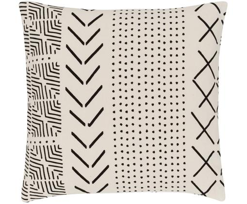 Kissenhülle Hekli mit grafischem Muster