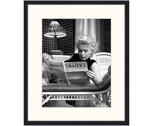 Gerahmter Digitaldruck Marilyn Monroe Reading