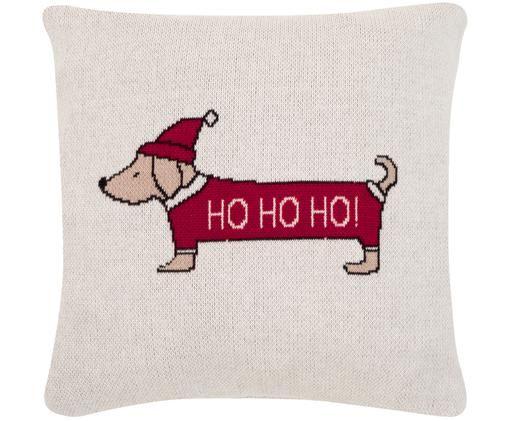 Kissenhülle Santas Little Helper mit weihnachtlichem Motiv