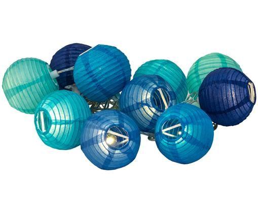 Ghirlanda luminosa Ibiza, Blu