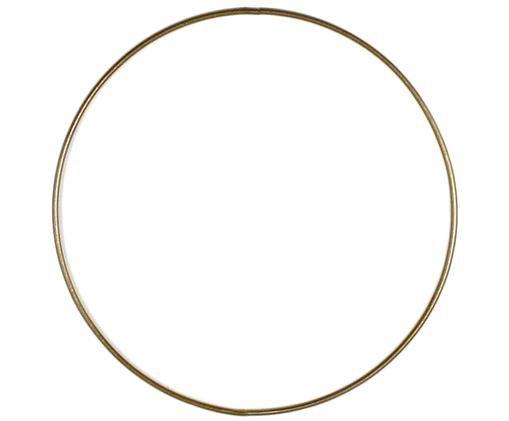 Ring Rondon, Gelakt metaal, Messingkleurig, Ø 20 cm