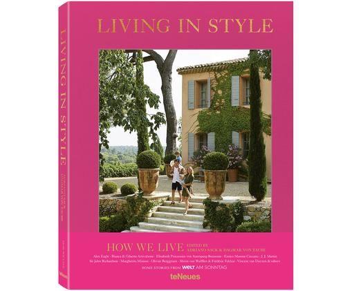 Bildband Living in Style, Mehrfarbig
