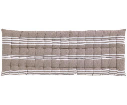 Nakładka na ławkę Rodas, Beżowy, S 40 x D 120 cm