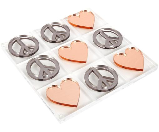 Jeu de société Love & Peace design Tic Tac Toe