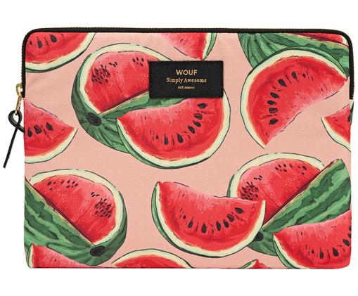iPad Air Hülle Watermelon, Hülle: Kunstfaser-Canvas, Rosa, Rot, 24 x 17 cm
