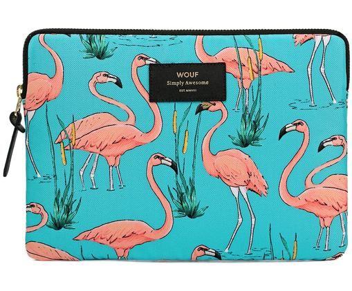 Housse pour ordinateur portable Flamingos pour MacBook Pro 13 pouces