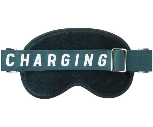 Schlafmaske Charging, Grün, Weiß