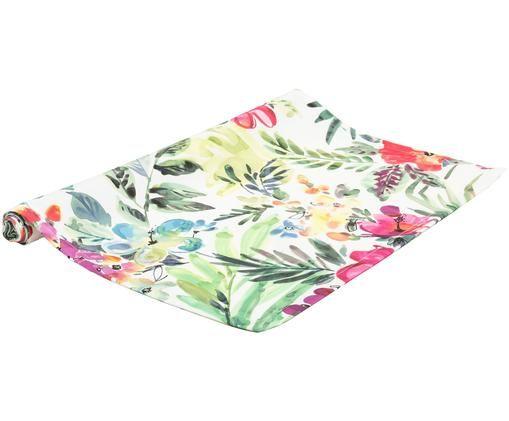 Runner da tavolo Santana, Cotone, Multicolore, Larg. 50 x Lung. 160 cm