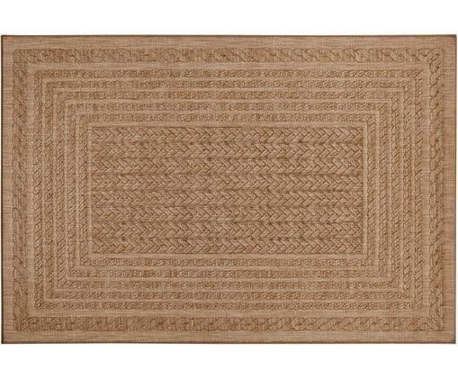 In- und Outdoorteppich Limonero in Jute Optik, Polypropylen, Beige, Braun, B 120 x L 170 cm (Größe S)