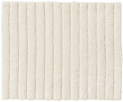 Tapis de bain Board, Blanc crème