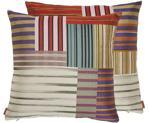 Cuscino reversibile Winslow, con imbottitura, Multicolore