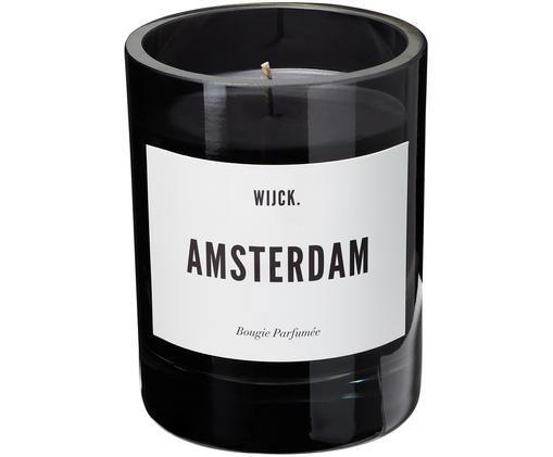 Duftkerze Amsterdam (Grapefruit, Patschuli & Zedernholz), Schwarz
