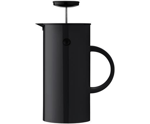 Zaparzacz do herbaty EM, Czarny, błyszczący